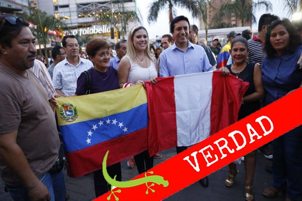 Perú es país de tránsito para venezolanos migrantes