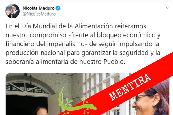 Gobierno garantiza seguridad alimentaria a venezolanos