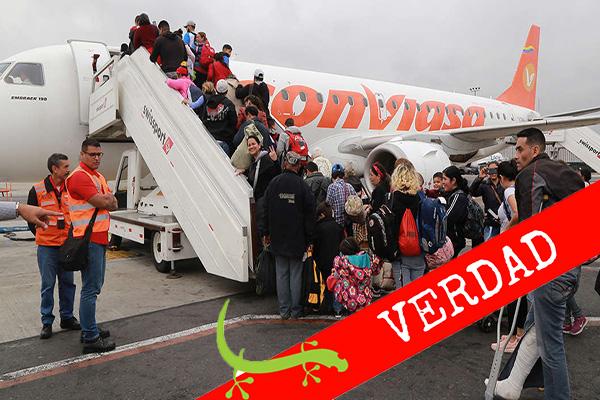 Plan Vuelta a la Patria: Solo 0,38 % de los migrantes se han sumado