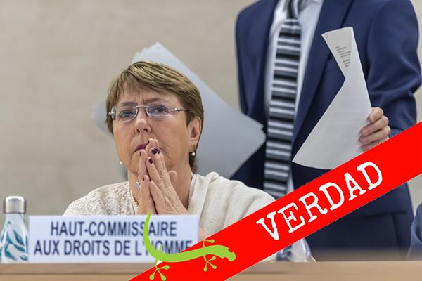 Bachelet: ANC asumió de facto responsabilidades constitucionales de la AN