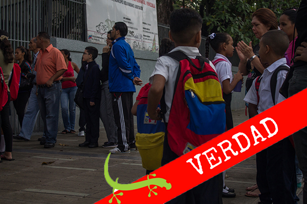 Crisis Humanitaria compleja alcanza a la educación
