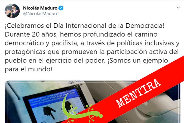 ¿Venezuela ejemplo de democracia para el mundo?