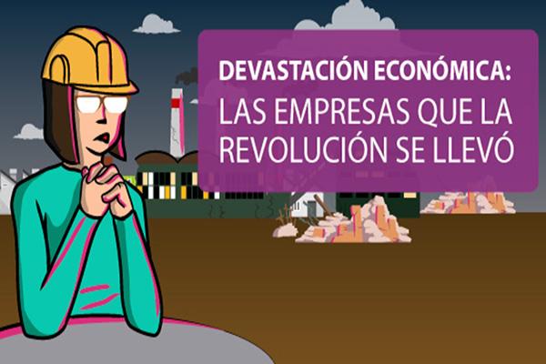 Las empresas que la revolución se llevó