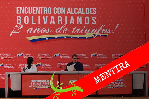 """Nicolás Maduro: """"El Gobierno de Colombia dice en Venezuela se vinieron para Colombia 4 millones"""""""