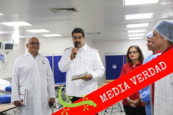 Maduro prometió atender necesidades de pacientes renales en 2019