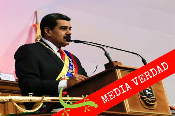 Maduro asegura que hubo