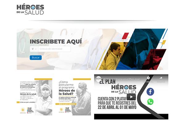 Héroes de la Salud: De las fake news a las fake web