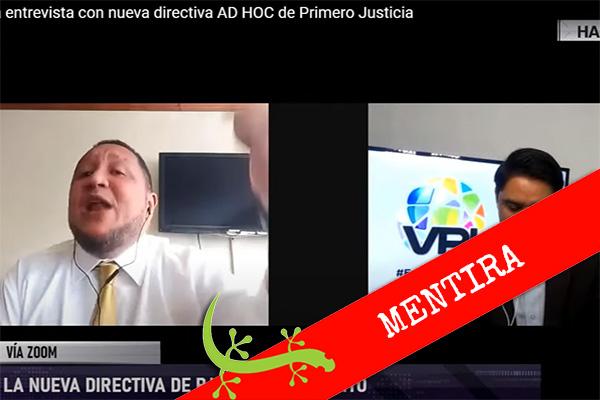 """José Brito: """"No hubo elección con más quórum que en la de Luis Parra"""""""
