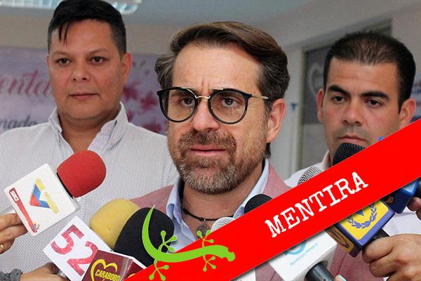 """Lacava: """"Carabobo es el estado con menos casos de COVID-19"""""""