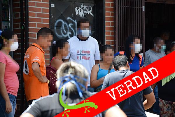 """OCHA: """"67 % de los casos de COVID-19 en Venezuela son de transmisión comunitaria"""""""