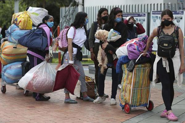 Migración venezolana condicionada por la COVID-19