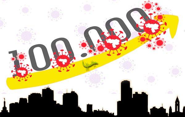 A Venezuela le tomó 255 días llegar a los 100 mil casos de COVID-19