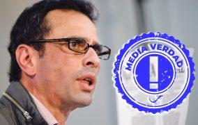 """Capriles: """"No tenemos idea de qué va a pasar con la vacunación"""""""