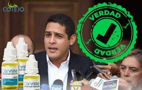 José Manuel Olivares: Carvativir es un tratamiento sin base científica