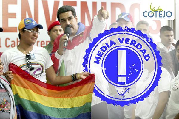 """Nicolás Maduro: """"Le dejo la tarea del matrimonio LGBTIQ a la próxima Asamblea Nacional"""""""