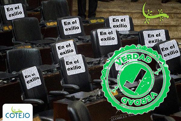 La Asamblea Nacional (2015-2020) tuvo a un tercio de sus diputados en el exilio o la clandestinidad