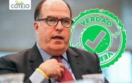 """Julio Borges: """"Venezuela está atravesando el peor momento de la pandemia"""""""