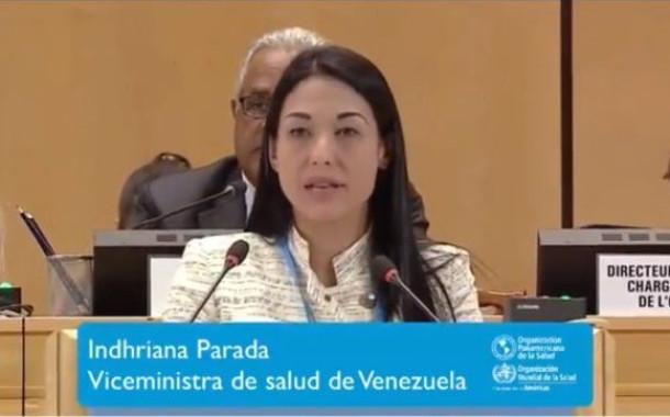 Viceministra de Salud niega crisis humanitaria mientras OPS debe ocuparse del caso Venezuela