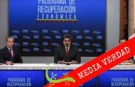 """#CotejoVerifica Maduro: Venezuela tuvo en estos 36 meses """"los ingresos más bajos de la historia de 100 años de economía rentista petrolera"""""""