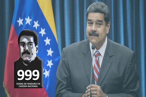 Horas de Maduro en cadena nacional